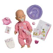 Baby Born Magic Eyes Doll, White