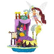 Disney Fairies Bess Artist Studio Pixie Hideaway Playset