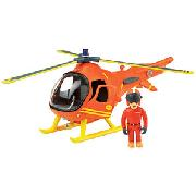Fireman Sam Friction Helicopter