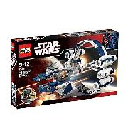 Lego Star Wars Jedi Starfighter with Hyperdrive Booster Ring