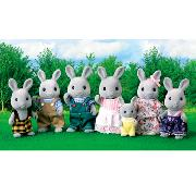 Sylvanian Families - Babblebrook Rabbit Family