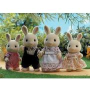Sylvanian Families - Buttermilk Rabbit Family