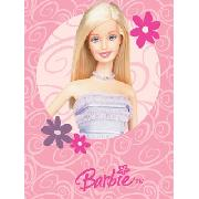 Barbie Fleece Blanket Glamour Printed Design