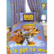 Bob the Builder Duvet Cover and Pillowcase Rulers Design Bedding
