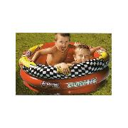 Disney Cars Inflatable Three Ring Paddling and Ball Pool