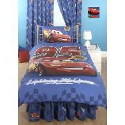 Disney Cars Valance Sheet Fitted 'Piston Cup' Design