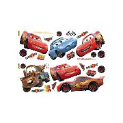 Disney Cars Wall Stickers Stikarounds 25 Piece