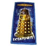 Doctor Who Towel Dalek Printed Design Dr