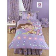 Dora the Explorer 'Let's Go' Fitted Valance Sheet