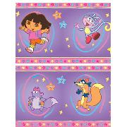 Dora the Explorer 7'' Self Adhesive Wallpaper Border