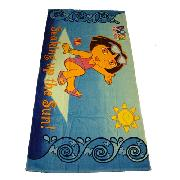 Dora the Explorer Beach / Bath Towel - Great Low Price