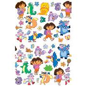 Dora the Explorer Stikarounds Wall Stickers 46 Pieces