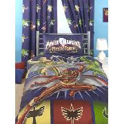 Power Rangers Curtains Mystic Force Design