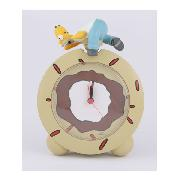 Simpsons Alarm Clock with Snooze 'Homer Topper' Design