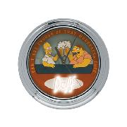 Simpsons Animated Flashing Wall Clock