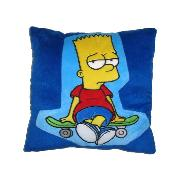 Simpsons Cushion Bart 'Skate' Design