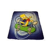 Simpsons Fleece Blanket Printed