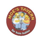Simpsons Moe's Tavern Talking Wall Clock