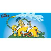 Simpsons Towel Homer 'Paddling Pool' Design