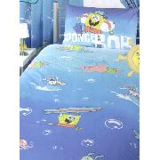 Spongebob Squarepants Surfs Up Duvet Cover and Pillowcase Bedding - Great Low Price