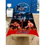 Wwe Raw Wrestling Duvet Cover and Pillowcase Bedding