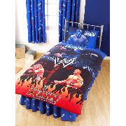 Wwe Raw Wrestling Fitted Valance Sheet Bedding