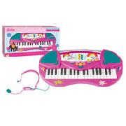 Barbie Keyboard with Microphone