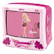 Barbie TV and Dvd Combi