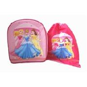 Disney Princess Backpack and Trainer Bag