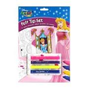 Disney Princess Felt Tip Set