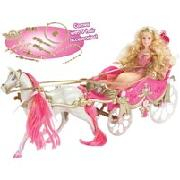 Disney Princess Golden Glitter Carriage