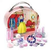 Disney Princess Oval Vanity Cosmetics Case