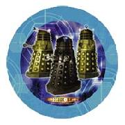 Doctor Who 8 Plates