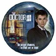 Doctor Who Plate - David Tennant