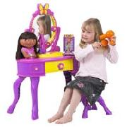 Fisher-Price Dora the Explorer Vanity Desk