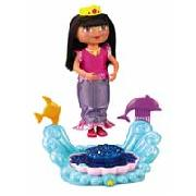 Fisher-Price Sparkle and Twirl Mermaid Dora the Explorer