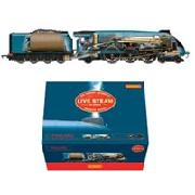 Hornby Live Steam Mallard Train Set