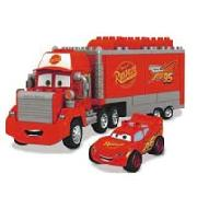 Mega Bloks Disney Pixar Cars Mack and Mcqueen (7769)