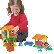 Mega Bloks Dora the Explorer Buildable House (3026)