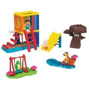 Mega Bloks Dora's Backyard Adventure Playset (3006)
