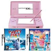 Nintendo Ds Lite Pink Barbie Pack