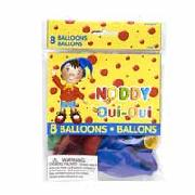 Noddy Balloons 8 Pack