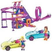 Polly Pocket Wheels Race To the Mall Playset