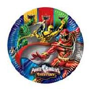 Power Rangers 10 Plates