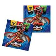 Power Rangers 20 Napkins
