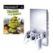 Ps2 Silver Shrek the Third Pack