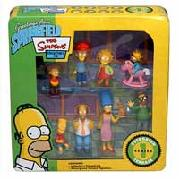 Simpsons Figures Collector Tin