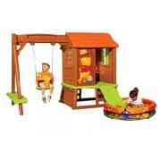 Smoby Winnie the Pooh Playhouse with Swing and Ball Pit