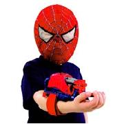 Spider-Man 3 Mask and Web Shooter