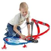 Spider-Man City Attack Track Play Set